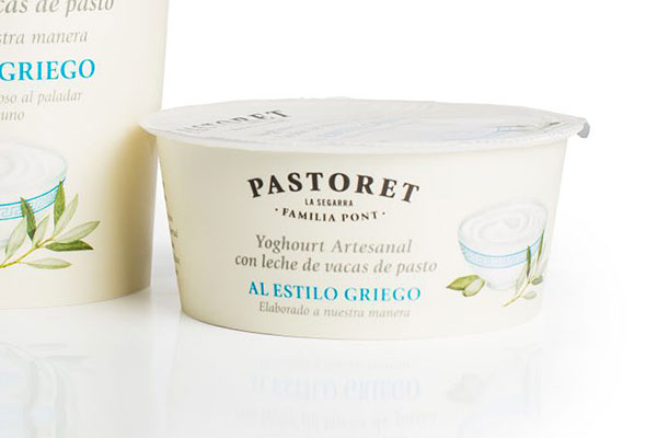 Yogur azucarado al estilo griego (125g)