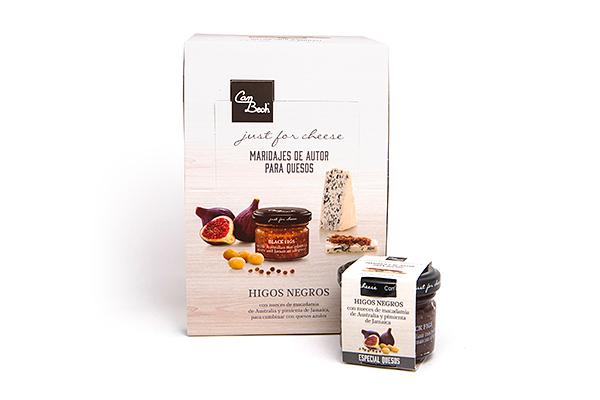Display Salsa de Higos con Macadamia y Pimienta