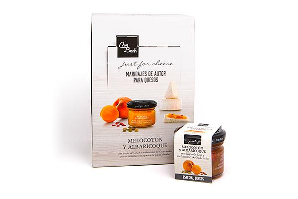 Display Salsa de Melocotón, Albaricoque, Cardamomo y Goji
