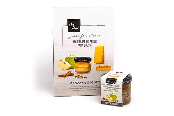 Display Salsa de Dados Manzana con Pistachos y Canela