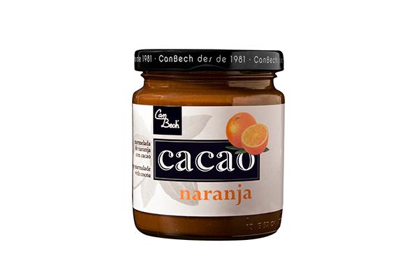 Mermelada de Cacao y Naranja