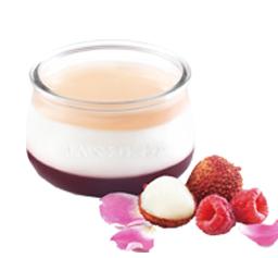 Capricho de Yogur Frambuesa / Lichi / Rosas
