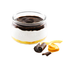 Capricho de Yogur Naranja & Chocolate