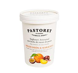 Yogur melocotón / Maracuyá (500g)
