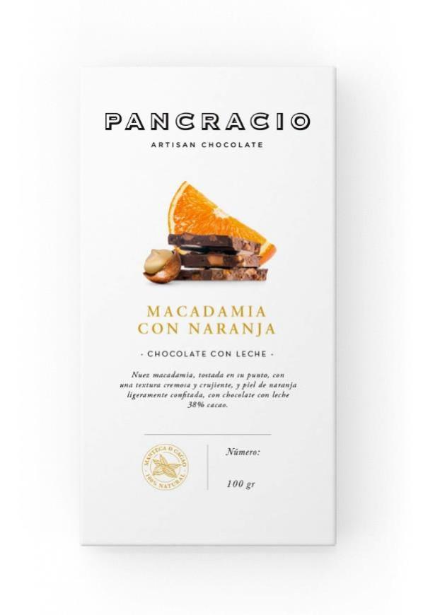 Macadamia con Naranja